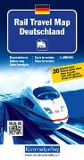 Cover-Bild zu Rail Travel Map Deutschland. 1:800'000