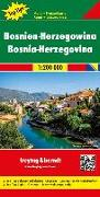Cover-Bild zu Bosnien-Herzegowina, Autokarte 1:200.000, Top 10 Tips. 1:200'000