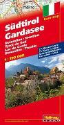 Cover-Bild zu Südtirol, Gardasee Strassenkarte 1:190 000. 1:190'000