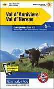 Cover-Bild zu Val d'Annivers, Val d'Hérens Wanderkarte Nr. 23. 1:60'000