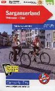 Cover-Bild zu Sarganserland-Chur-Domleschg Velokarte Nr. 13. 1:60'000