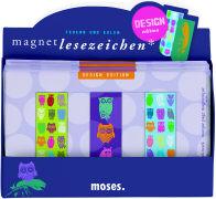 Cover-Bild zu Magnetlesezeichen Federn und Eulen. DESIGN edition.