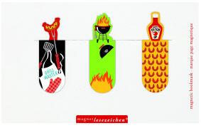 Cover-Bild zu Magnetlesezeichen Barbecue