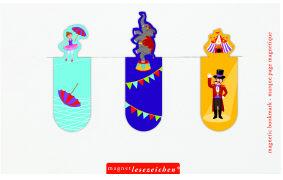 Cover-Bild zu Magnetlesezeichen Zirkus