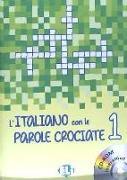 Cover-Bild zu L'italiano con le parole crociate 1