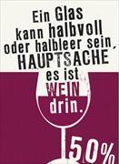 Cover-Bild zu Reiner Wein Magnet Halbvoll