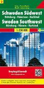 Cover-Bild zu Schweden Südwest - Göteborg - Vänersee - Karlstad, Autokarte 1:250.000. 1:250'000