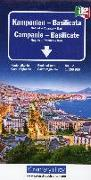 Cover-Bild zu Kampanien - Basilicata. 1:200'000