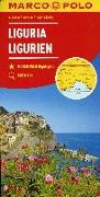 Cover-Bild zu Italien Blatt 5 Ligurien. 1:200'000
