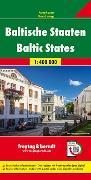 Cover-Bild zu Baltische Staaten, Autokarte 1:400.000. 1:400'000