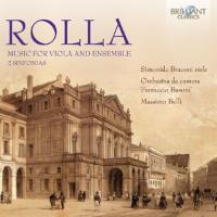 Cover-Bild zu Music for Viola and Ensemble / 2 Sinfonias