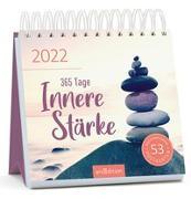 Cover-Bild zu Postkartenkalender 365 Tage Innere Stärke 2022