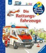 Cover-Bild zu Erne, Andrea: Wieso? Weshalb? Warum? junior: Die Rettungsfahrzeuge (Band 23)