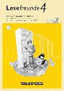 Cover-Bild zu Lesefreunde 4. Schuljahr. Neubearbeitung 2015. Handreichungen mit CD-ROM. östliche BL,BE von Gutzmann, Marion