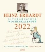 Cover-Bild zu Heinz Erhardt - Literarischer Wochenkalender 2022 von Erhardt, Heinz