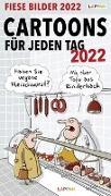 Cover-Bild zu Fiese Bilder Cartoons für jeden Tag 2022: Tageskalender von Diverse