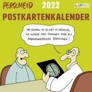 Cover-Bild zu Perscheid Postkartenkalender 2022 von Perscheid, Martin (Illustr.)