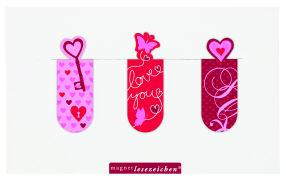 Cover-Bild zu Magnetlesezeichen - Liebe