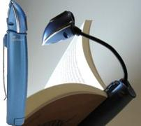 Cover-Bild zu Stylus Booklight | Leselampe | Blau (Lightsource)