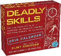 Cover-Bild zu Deadly Skills 2018 Day-to-Day Calendar von Emerson, Clint
