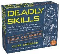 Cover-Bild zu Deadly Skills 2020 Day-to-Day Calendar von Emerson, Clint