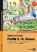 Cover-Bild zu Stationenlernen Politik 5./6. Klasse (eBook) von Bucher, Stefan
