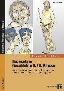 Cover-Bild zu Stationenlernen Geschichte 5./6. Klasse - Band 1 von Lauenburg, Frank