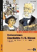 Cover-Bild zu Stationenlernen Geschichte 7./8. Klasse - Band 1 von Lauenburg, Frank