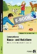 Cover-Bild zu Lernstationen Haus- und Nutztiere (eBook) von Schub, Christine