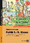 Cover-Bild zu Stationenlernen Politik 5./6. Klasse von Bucher, Stefan