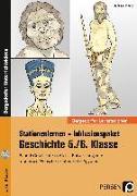 Cover-Bild zu Stationenlernen Geschichte 5/6 Band 1 - inklusiv von Lauenburg, Frank
