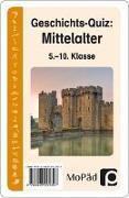 Cover-Bild zu Geschichts-Quiz: Mittelalter von Lauenburg, Frank