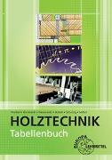 Cover-Bild zu Tabellenbuch Holztechnik von Hornhardt, Eva