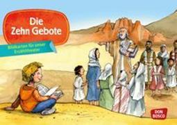 Cover-Bild zu Bildkarten für unser Erzähltheater: Die Zehn Gebote von Mayer-Skumanz, Lene