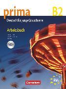 Cover-Bild zu Jin, Friederike: Prima - Die Mittelstufe, B2, Arbeitsbuch mit Audio-CD