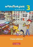 Cover-Bild zu Barzel, Bärbel: Mathewerkstatt, Mittlerer Schulabschluss Baden-Württemberg, Band 3, Materialblock, Arbeitsmaterial mit Wissensspeicher