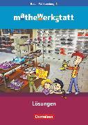 Cover-Bild zu Barzel, Bärbel: Mathewerkstatt, Mittlerer Schulabschluss Baden-Württemberg, Band 3, Lösungsheft zum Schülerbuch