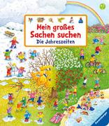 Cover-Bild zu Gernhäuser, Susanne: Mein großes Sachen suchen: Die Jahreszeiten