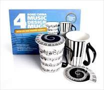 Cover-Bild zu Mug and Lid - Music Notes Pack