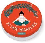 Cover-Bild zu 24 Tage Yogaglück von Ohrnberger, Karolin (Illustr.)