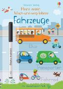Cover-Bild zu Brooks, Felicity: Meine ersten Wisch-und-weg-Wörter: Fahrzeuge