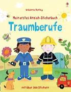 Cover-Bild zu Brooks, Felicity: Mein erstes Anzieh-Stickerbuch: Traumberufe