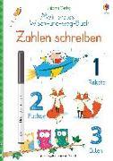 Cover-Bild zu Brooks, Felicity: Mein erstes Wisch-und-weg-Buch: Zahlen schreiben