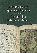 Cover-Bild zu Smithsonian Institution Libraries: Rare Books and Special Collections in the Smithsonian Institution Libraries