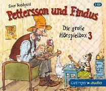 Cover-Bild zu Pettersson und Findus - Die große Hörspielbox 3 (3 CD) von Nordqvist, Sven