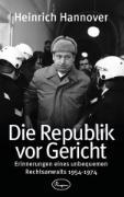 Cover-Bild zu Die Republik vor Gericht 1954-1974