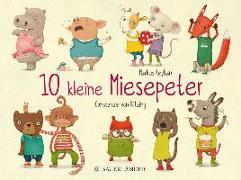 Cover-Bild zu 10 kleine Miesepeter von Reyhani, Markus