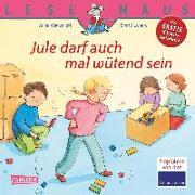 Cover-Bild zu Jule darf auch mal wütend sein von Wagenhoff, Anna