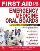 Cover-Bild zu Howes, David: First Aid for the Emergency Medicine Oral Boards, Second Edition