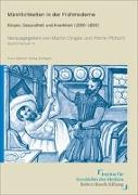 Cover-Bild zu Dinges, Martin (Hrsg.): Männlichkeiten in der Frühmoderne